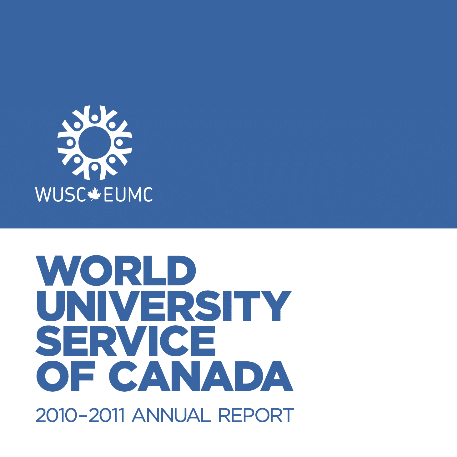 WUSC Annual Report (2010-2011)